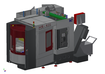 HR-400 horizontal machining center