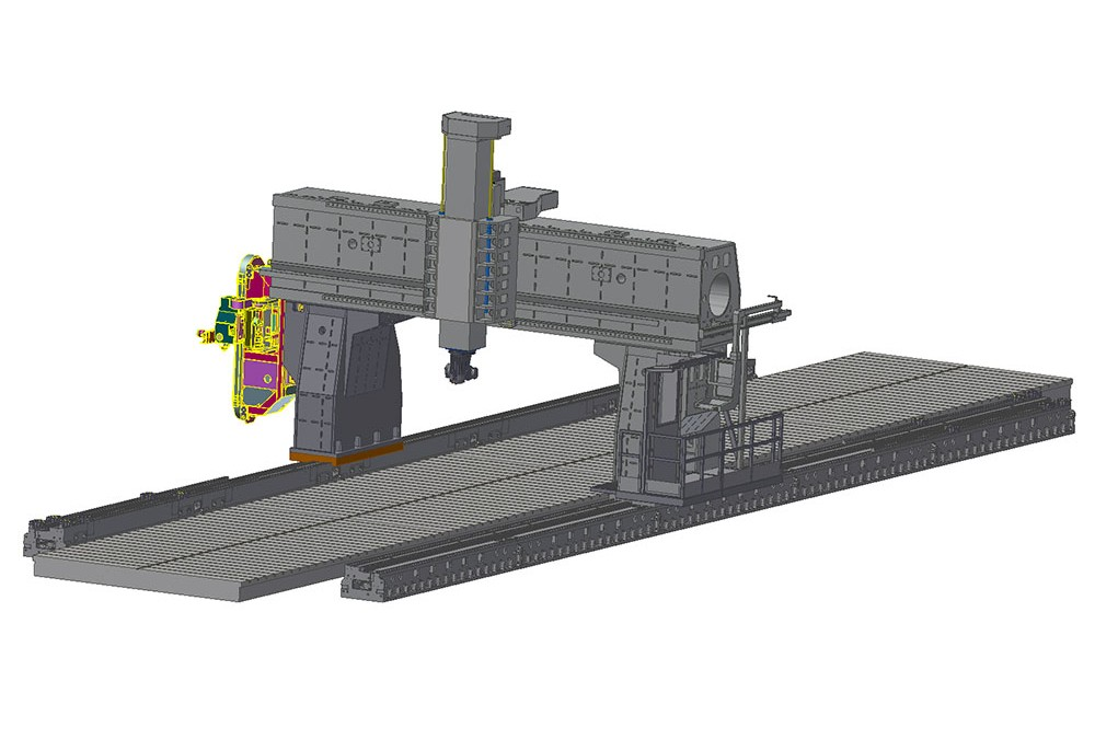 Dolmen Wide: new Gantry vertical milling center