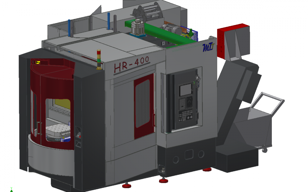 HR-400: New horizontal center of the innovative concept