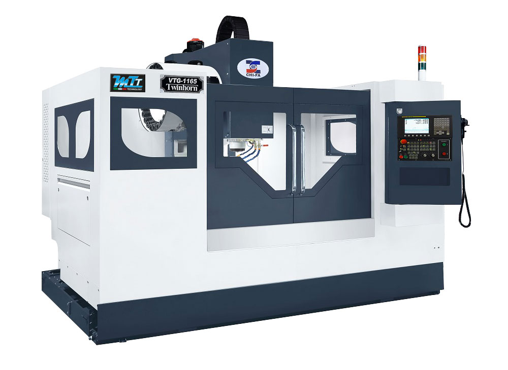 VTG-Series Vertical machining centers